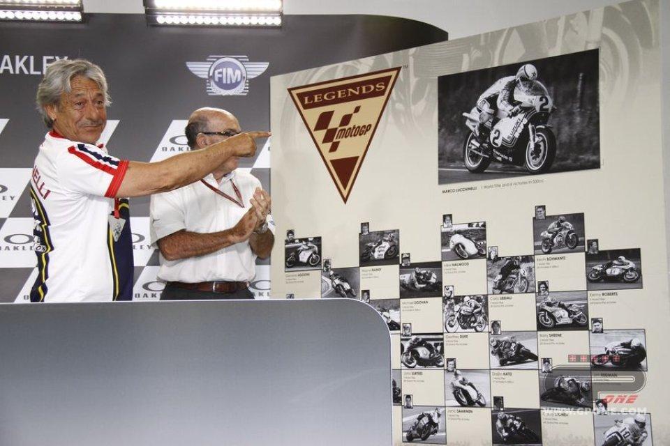 MotoGP, Marco Lucchinelli nominato 'MotoGP Legend'