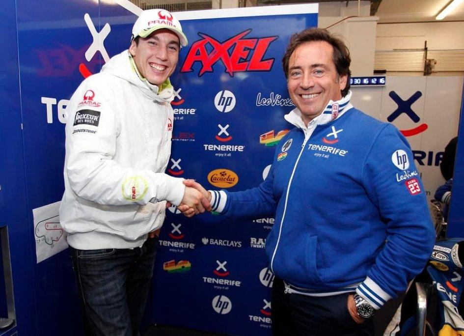 Moto2: Aleix Espargaro con Pons