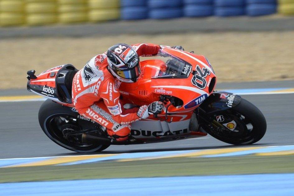 Marquez in Pole, Dovi porta Ducati in 1° fila