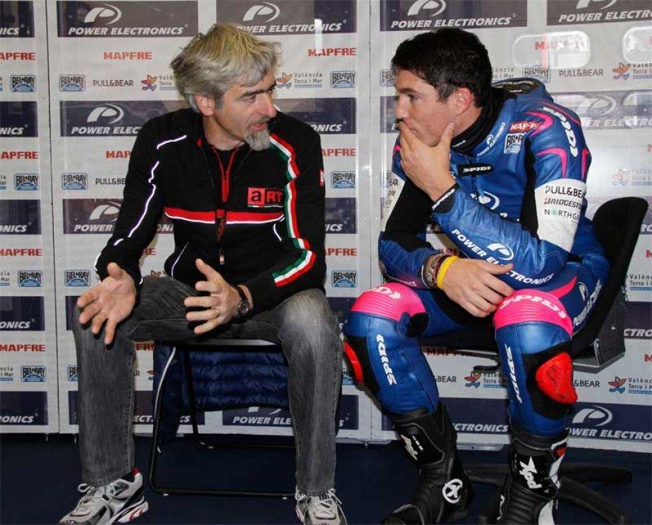 Aprilia con Hayden e Laverty in MotoGP