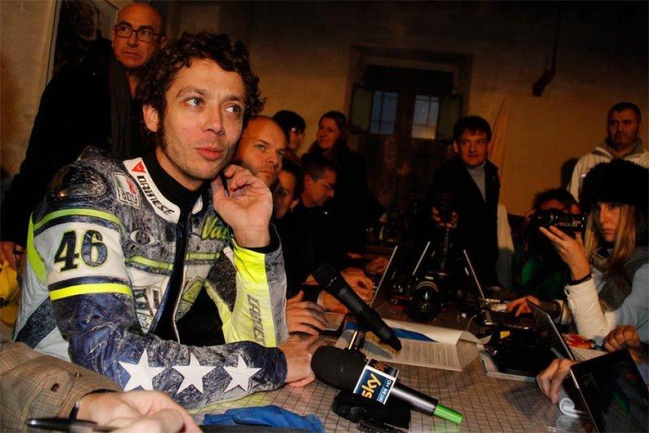 Rossi: voglio correre, ma per vincere