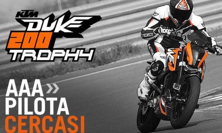 Duke 200 Trophy: KTM svela il suo trofeo