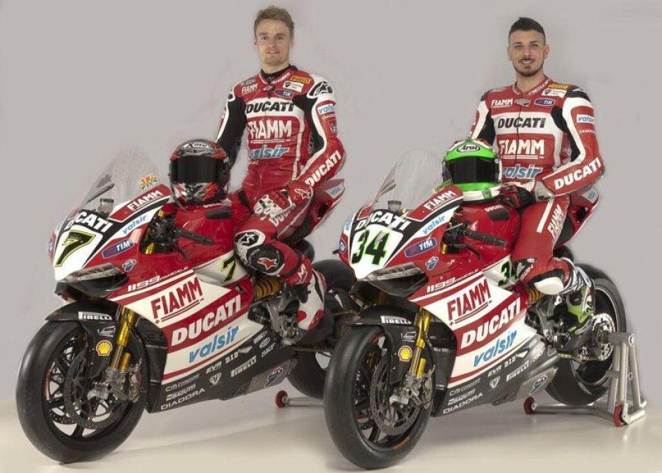 LIVE: il lancio del team Ducati Superbike