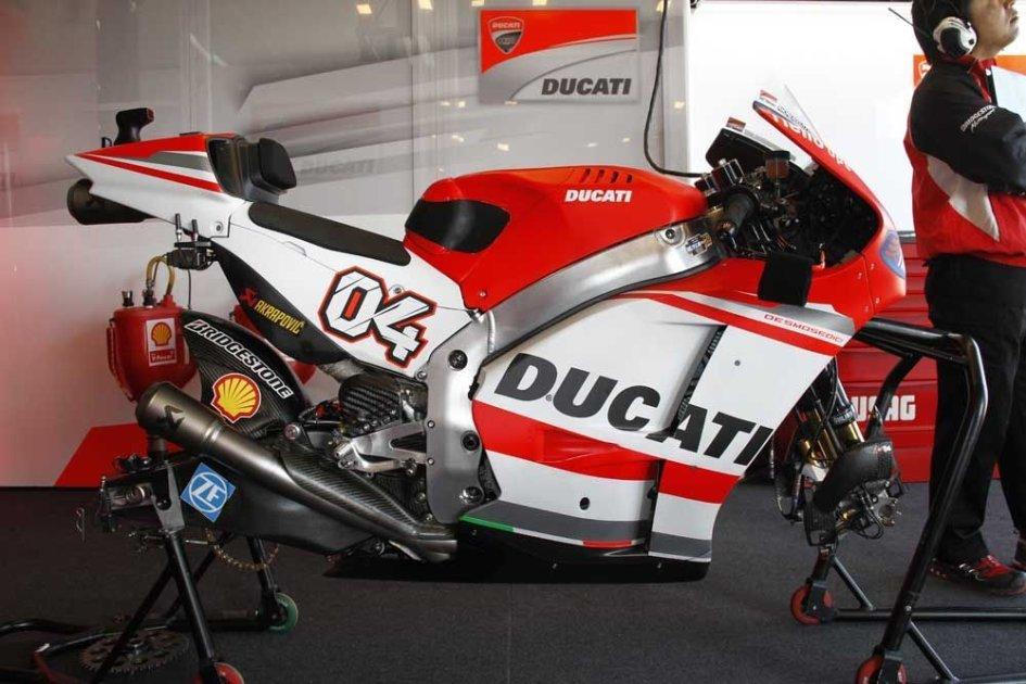 Ecco la Ducati GP14.2
