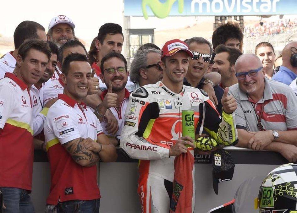 Iannone e Dovizioso, un podio per due