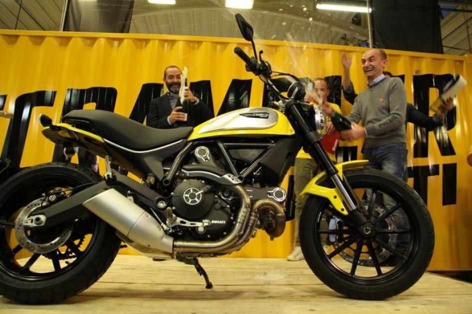 Ducati Scrambler, al via la produzione