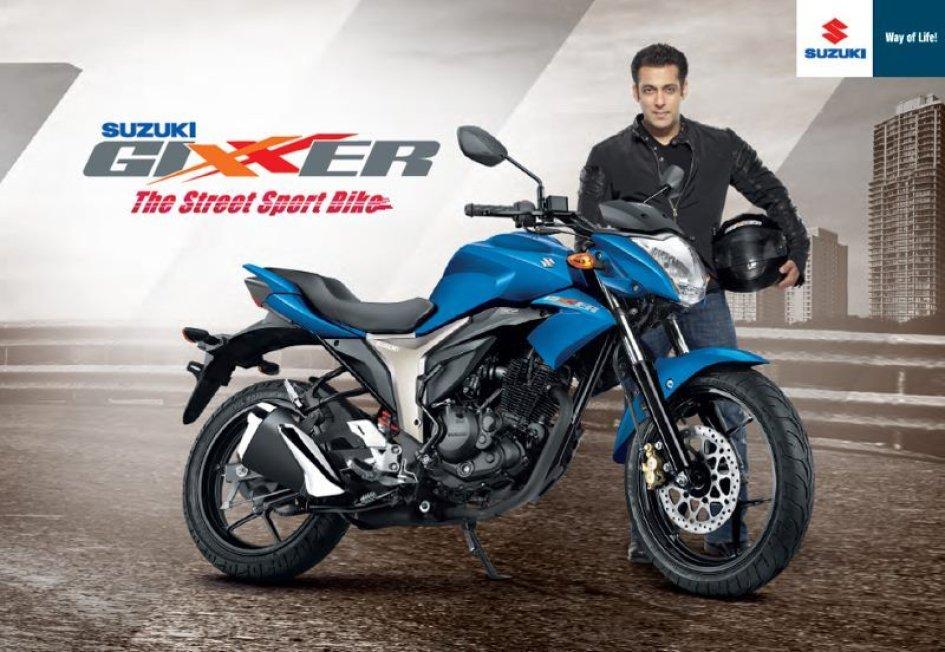 La Suzuki Gixxer moto dell'anno in India