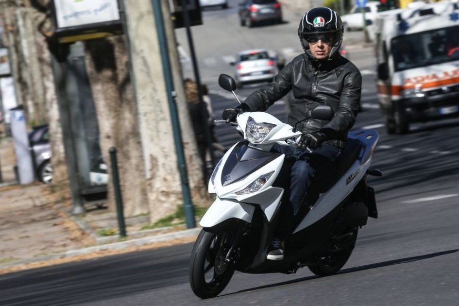 Suzuki Address110: vita facile in città