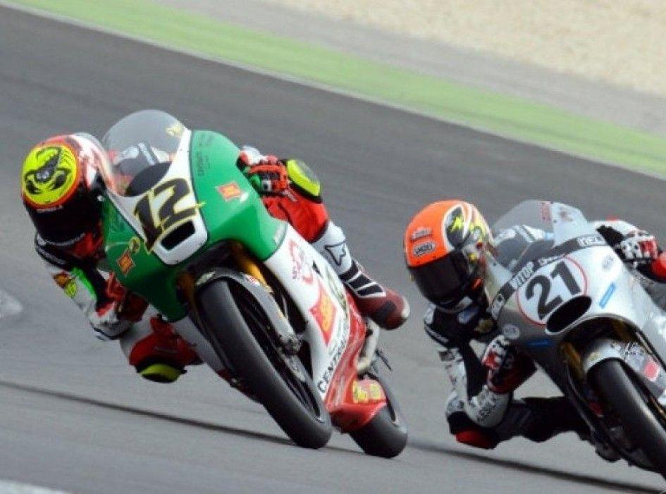 """CIV, a Bezzecchi il """"Tricolore"""" Moto3"""