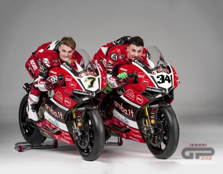 Tutte le foto delle Ducati SBK di Giugliano e Davies