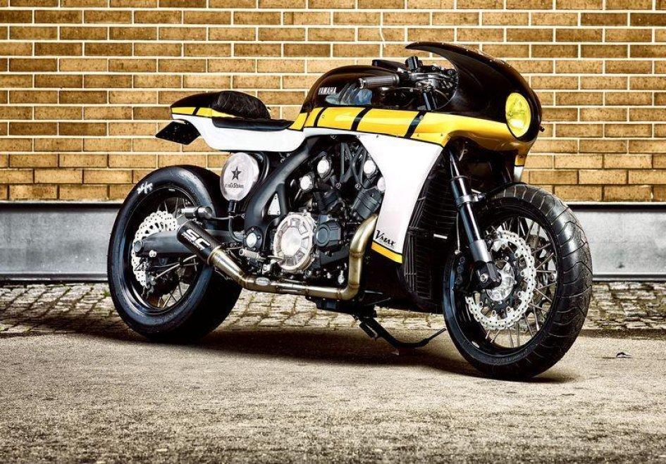 Yamaha CS07 Gasoline: la VMAX di casa It Rocks!Bikes