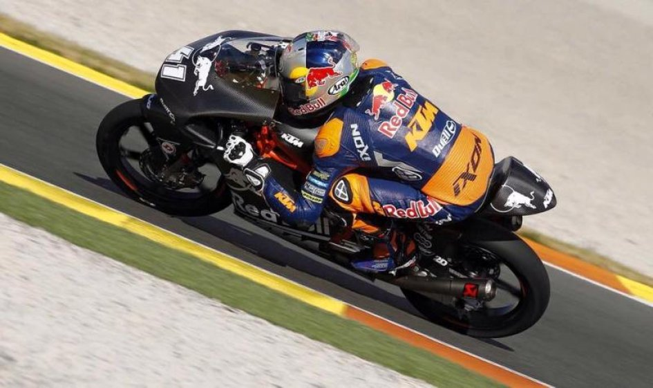 Moto3, Test Valencia: Comanda Binder, 4° Bulega