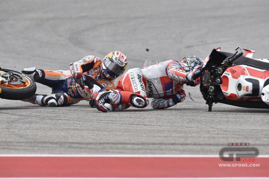 Andrea Dovizioso a sitting duck at Austin