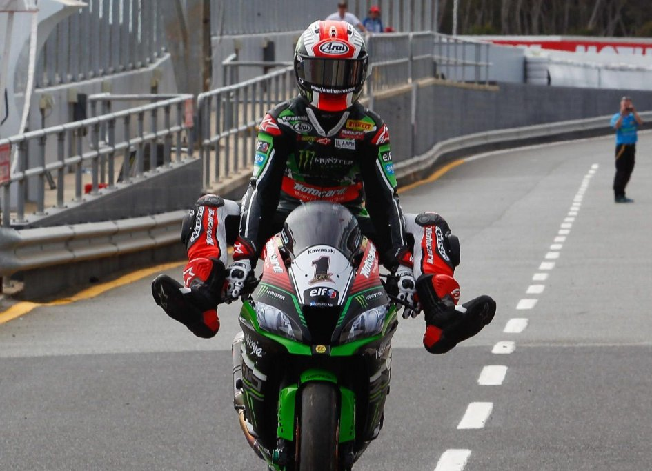 Rea leads for 30 Races, closes in on Fogarty