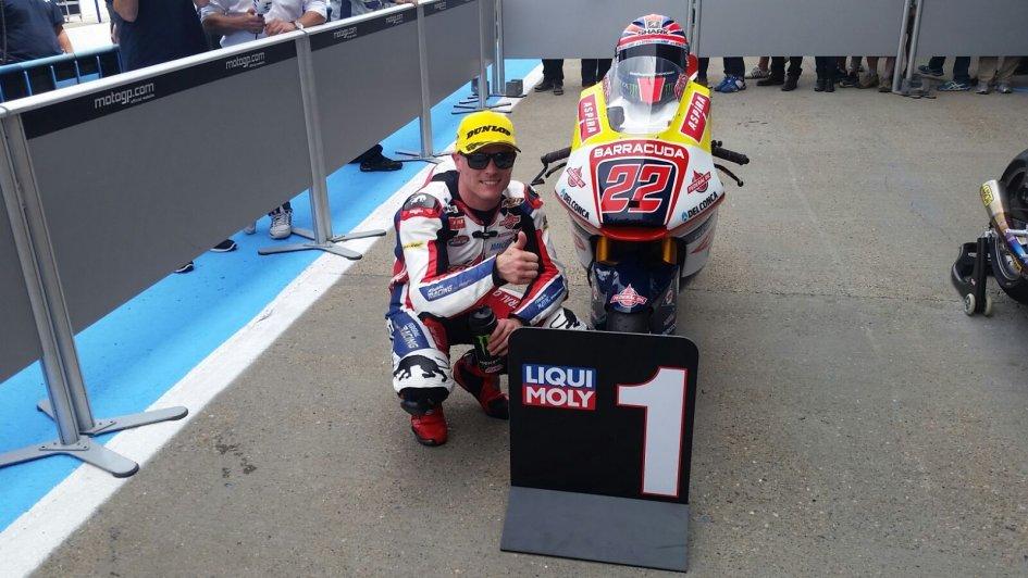 QP Moto2: per Lowes pole position da funambolo