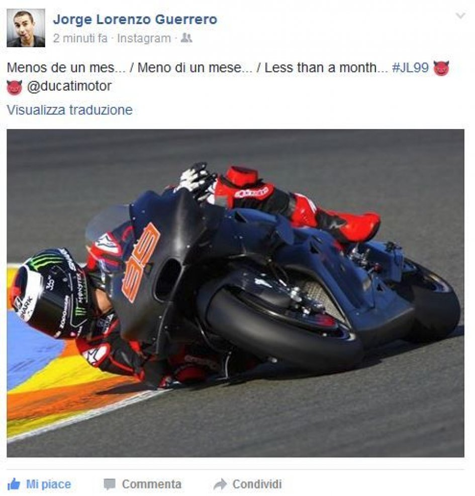 Lorenzo counts down to Sepang