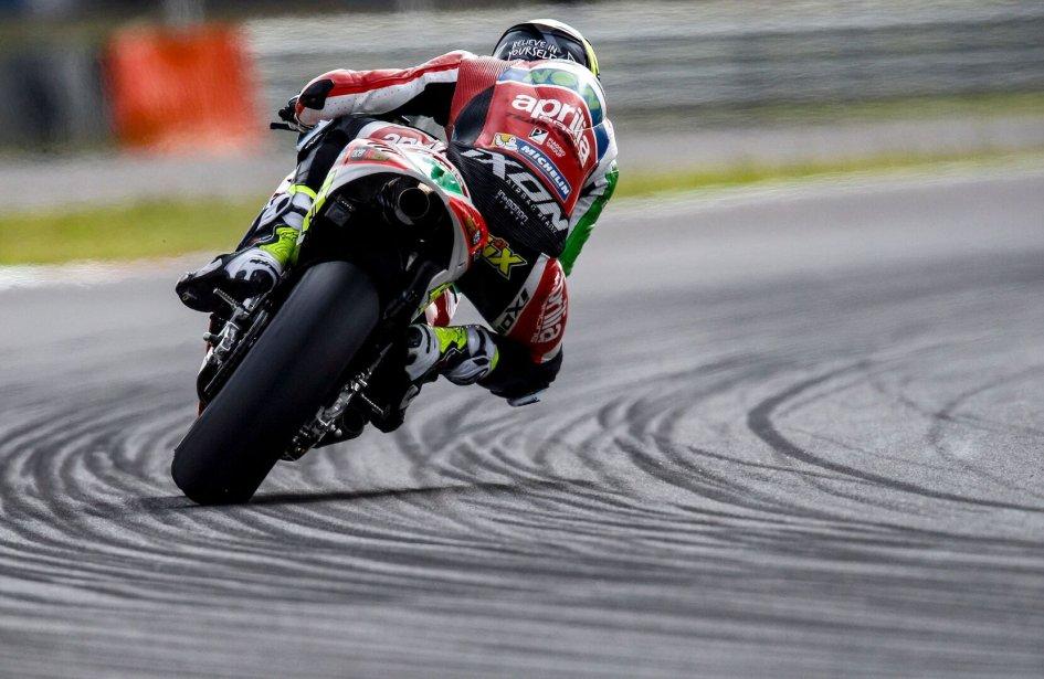 MotoGP: Espargarò: l'Aprilia emergerà nella seconda parte di gara