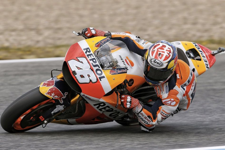 MotoGP: Pedrosa leader Honda a Jerez, Rossi e Marquez 12° e 14°