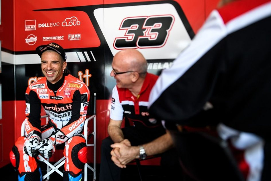 "SBK: Melandri: ""Davies and Rea? Better to focus on Sykes"""