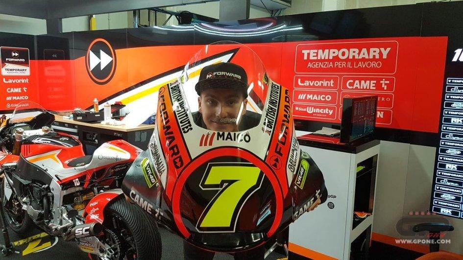 Franco Morbidelli dal 2018 correrà nella classe regina MotoGP
