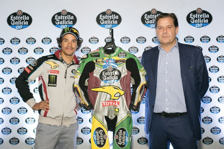 Moto2: A leather with brazilian colors for Morbidelli in Brno