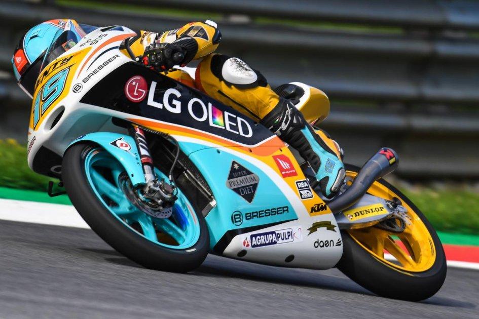 Moto3: Rodrigo si ripete e conquista la pole in Austria