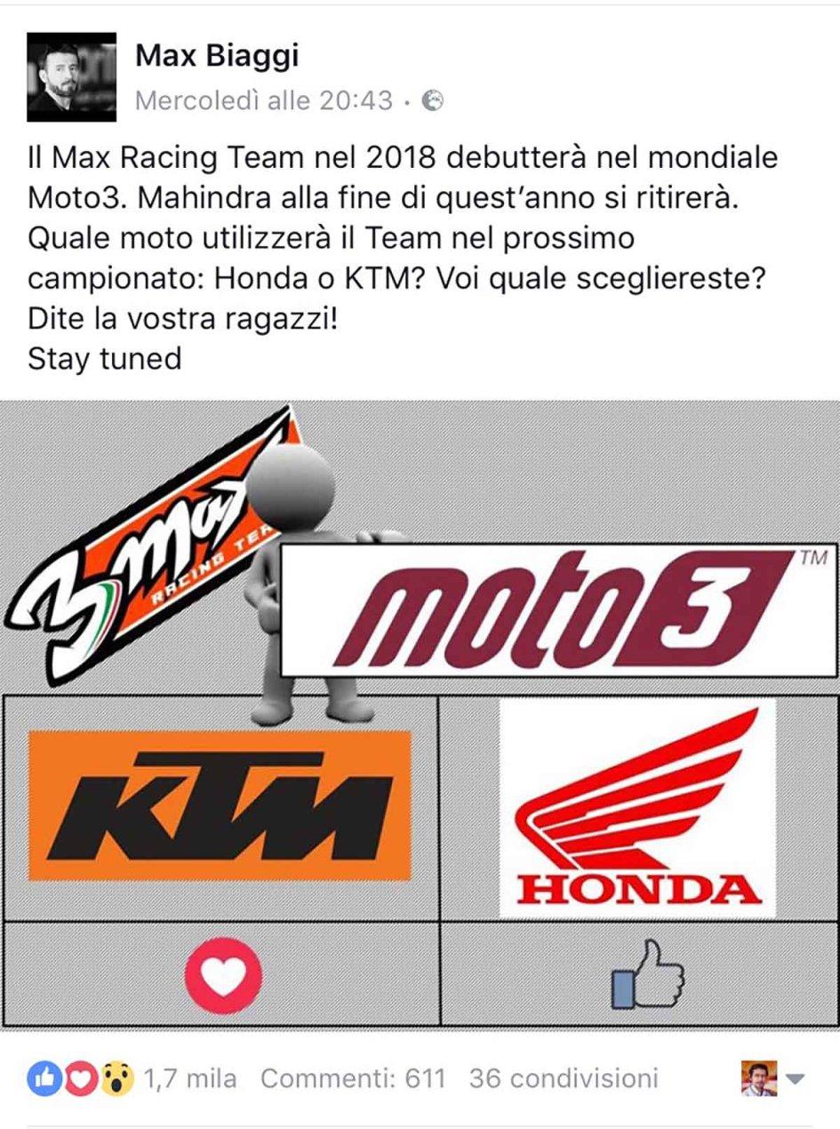 Moto3 biaggi on facebook help me choose between honda and ktm moto3 biaggi on facebook help me choose between honda and ktm altavistaventures Images