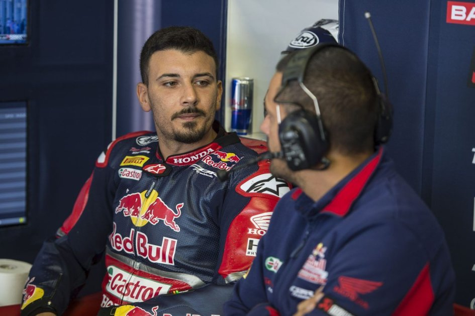 SBK: Giugliano: never as fast as today, the tyres stopped me