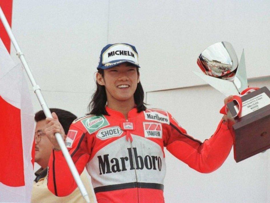 MotoGP: IL RICORDO: Abe, il campione che ispirò il giovane Rossi