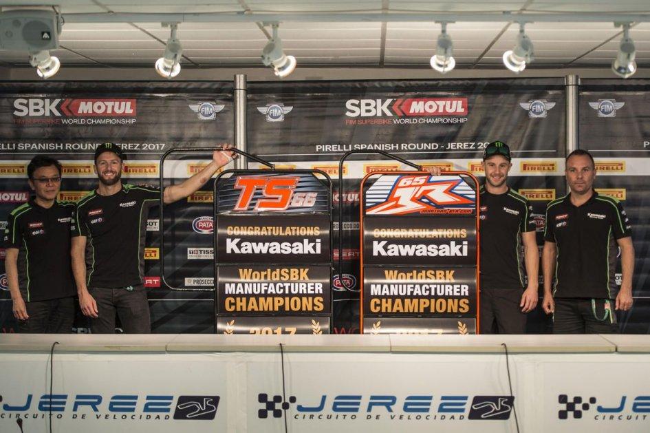 SBK: Jerez: Kawasaki vince il mondiale costruttori