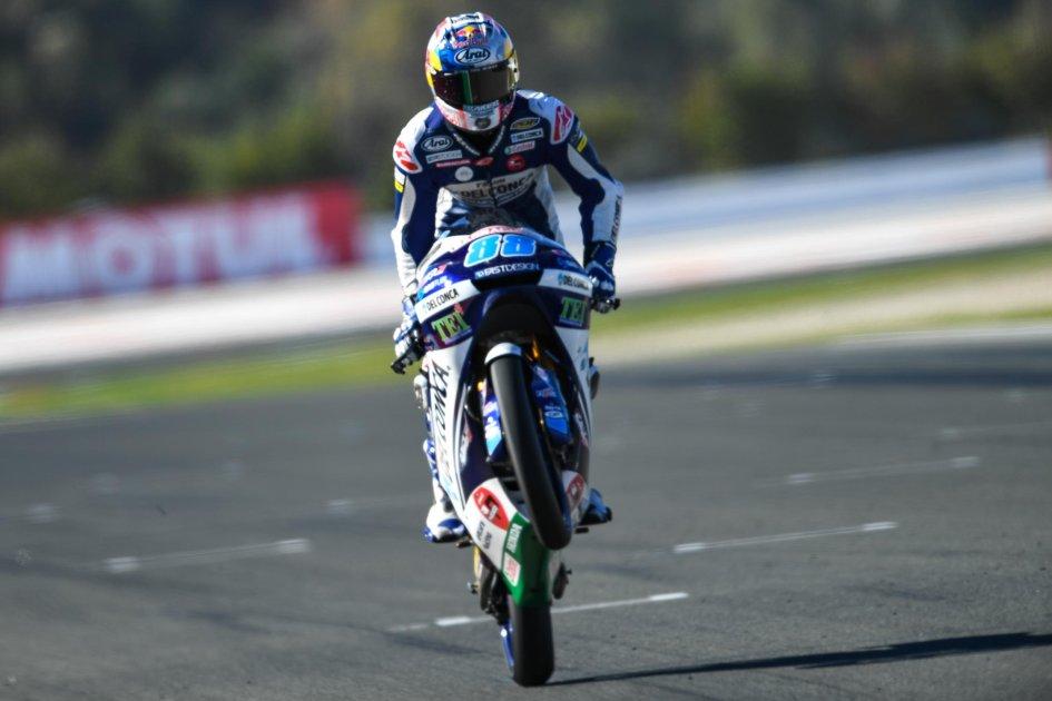 Moto3: la prima volta di Martin, 4° Fenati