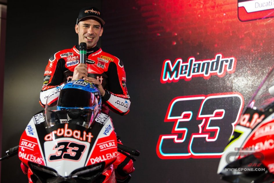 SBK: Melandri: I'll be more aggressive in a one on one situation