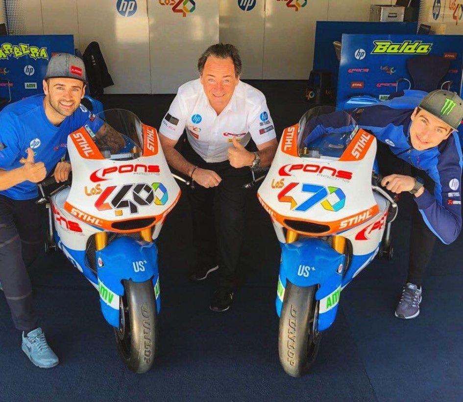 Moto2: Baldassarri: con Pons voglio lottare per la vittoria
