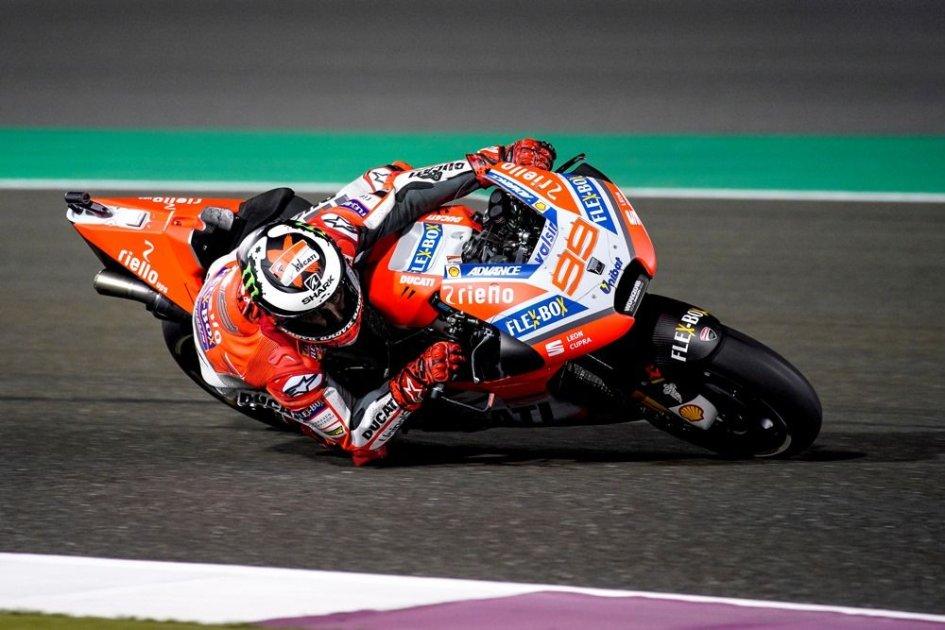 MotoGP: Lorenzo: sul passo sono veloce come Dovi e Petrucci