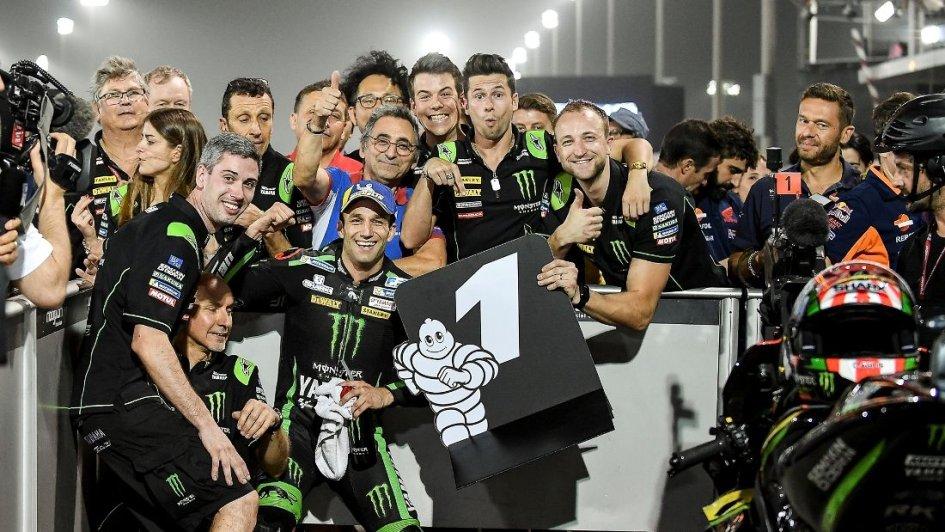 MotoGP: Zarco: essere in pole è un'opportunità per vincere