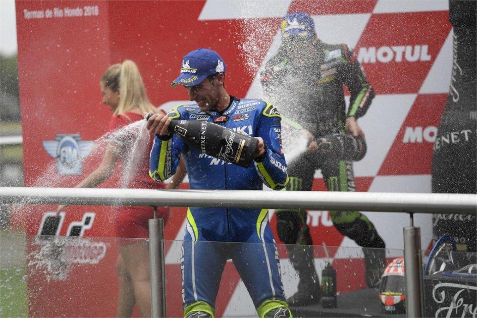 MotoGP: Rins: la Suzuki è competitiva, ora tutto è possibile