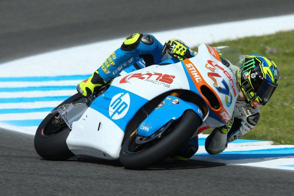 Moto2: Baldassarri irresistibile, prima pole a Jerez, 3° Bagnaia