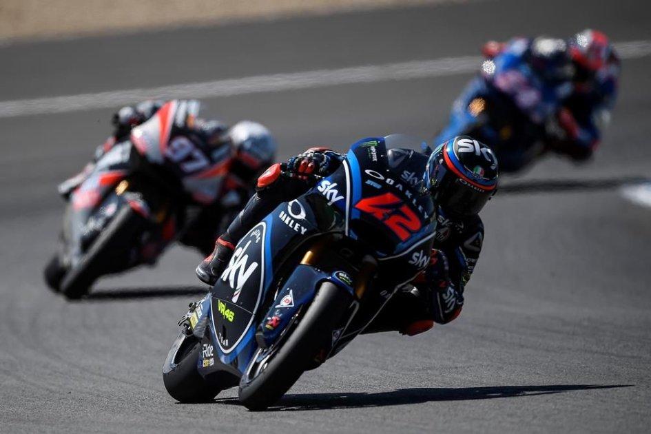 Moto2, FP2: Bagnaia di misura su Mir, 5° Corsi seguito da Pasini | GPone.com