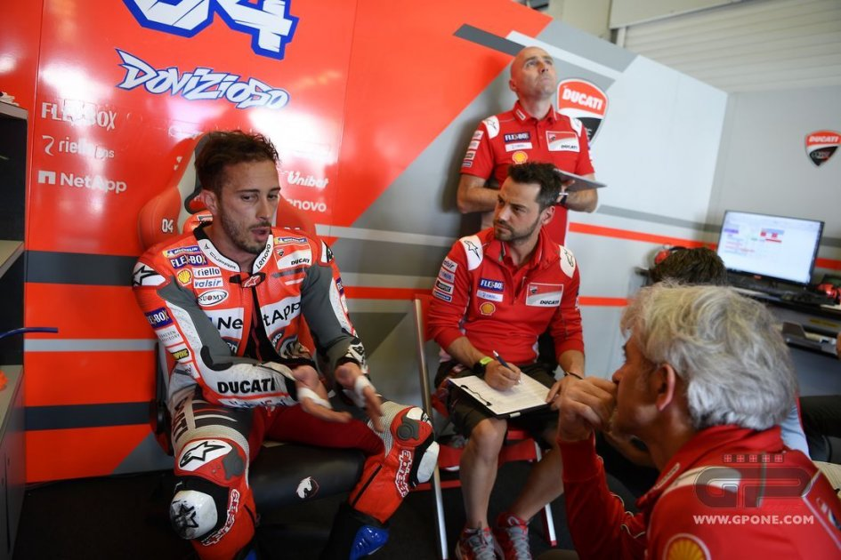 MotoGP: Deadlock between Dovizioso and Ducati