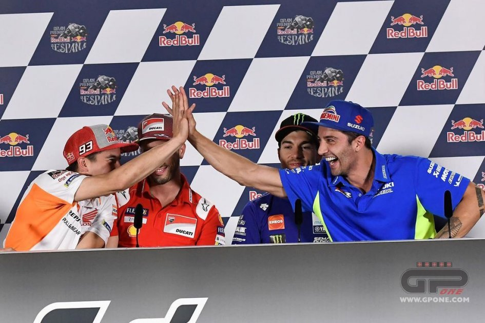 "MotoGP: Marquez opens the door for Dovizioso: ""Him or Dani in Honda"""