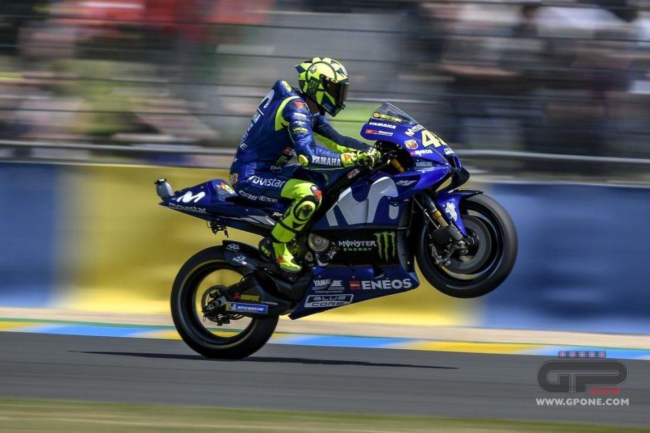 MotoGP: Rossi: sono veloce, ma è tutto merito di Le Mans