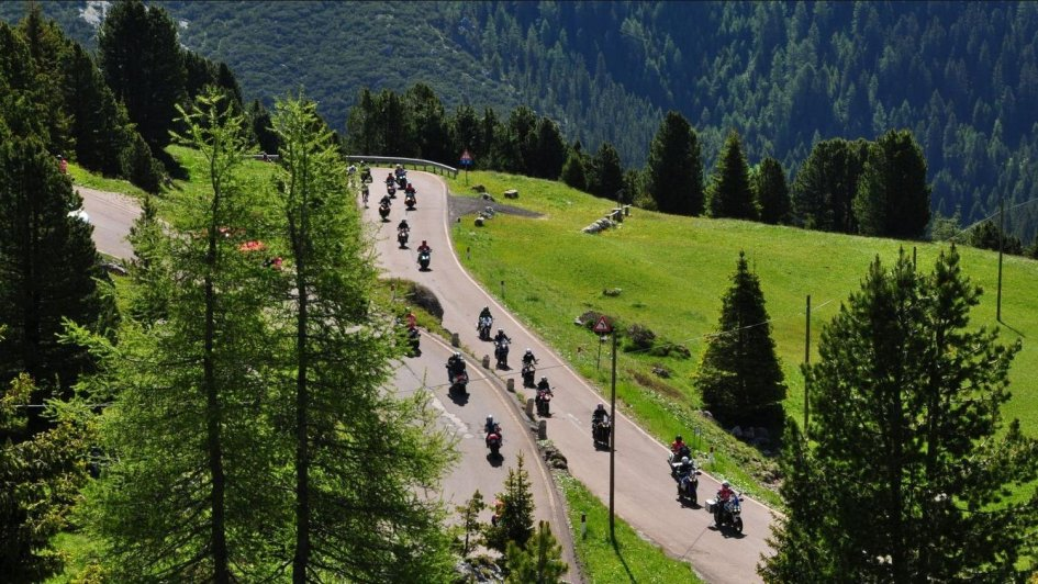 News Prodotto: Yamaha: dal 6 all'8 luglio ritorna il Dolomiti Ride