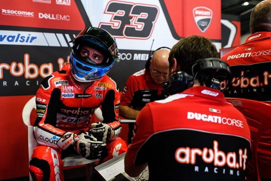 """SBK: Melandri: """"La Ducati era nervosa, le modifiche non sono servite"""""""