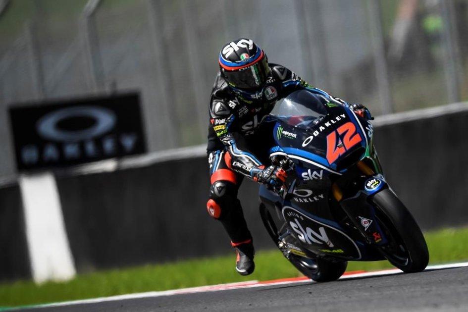 Moto2: WUP, tris tricolore: 1° Bagnaia, 2° Pasini, 3° Baldassarri