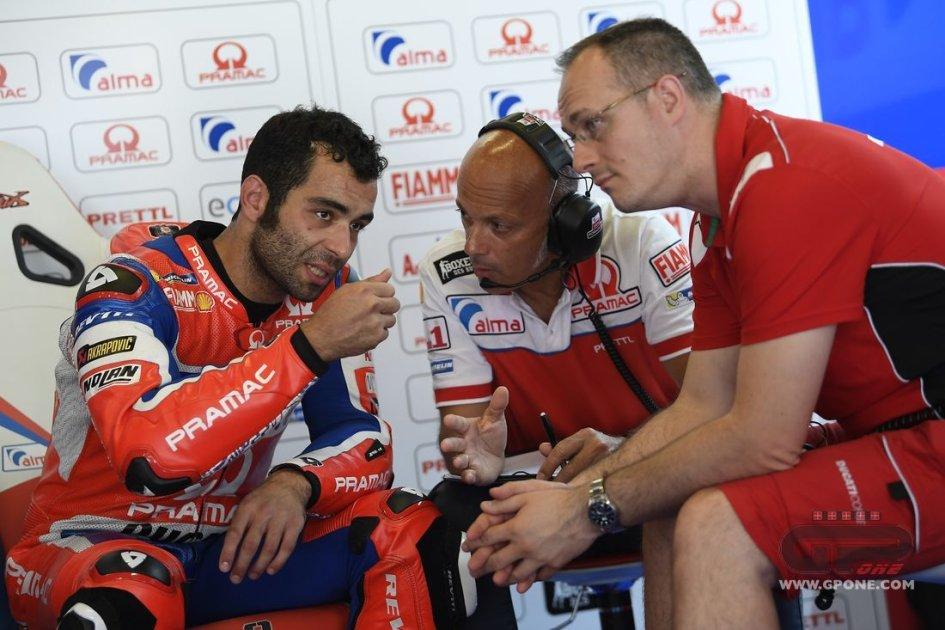 MotoGP: Petrucci cade a 150 Km/h: lì ero più veloce di Lorenzo