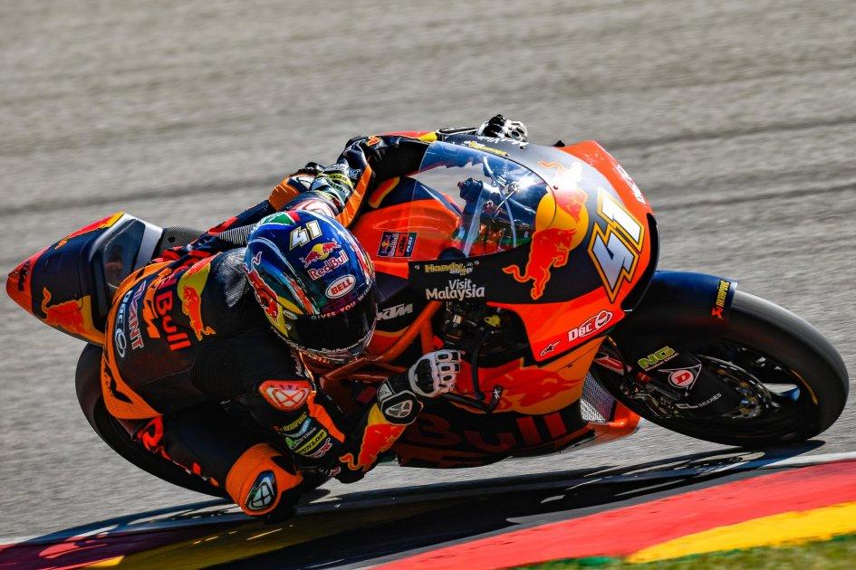 Moto2: Binder come Ballington, Marini sul podio del Sachsenring