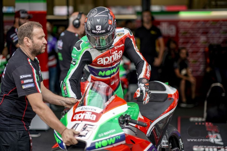 "MotoGP: Albesiano: ""Aprilia is finding its balance again"""
