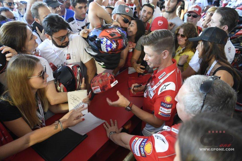 MotoGP: Stoner lascia: non più tester Ducati nel 2019