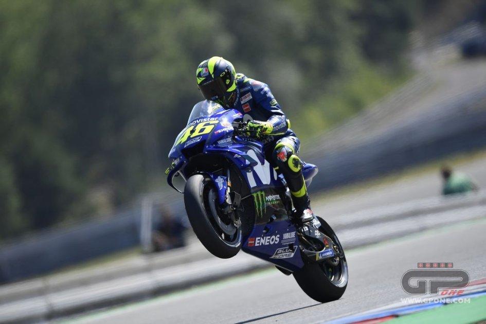 MotoGP: Rossi: il test team? meglio tardi che mai