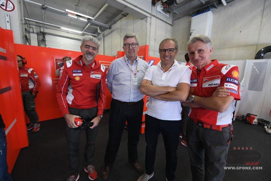 """MotoGP: Ross Brawn: """"La F1 dovrebbe essere accessibile come la MotoGP"""""""